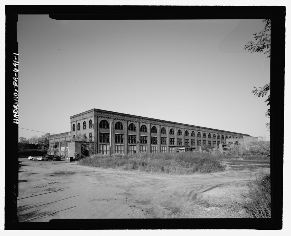 Pittsburgh & Lake Erie Railroad, Locomotive Repair Shops, River Road at Chartiers Avenue, McKees Rocks
